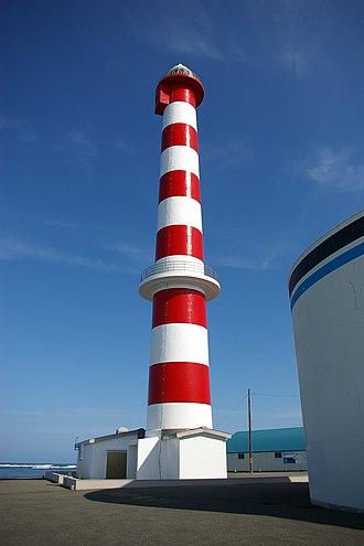 Wakkanai, Hokkaido - Wakkanai lighthouse in 2006