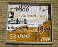 Wall plaque on Sainsburys - geograph.org.uk - 1594372.jpg