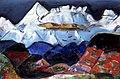 Walter Jonas - Himalaya 1951 Oel auf Leinwand.jpg