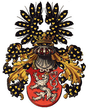Flag of Bohemia - Arms of the Kingdom of Bohemia by Austrian heraldist Hugo Gerard Ströhl (1851–1919)
