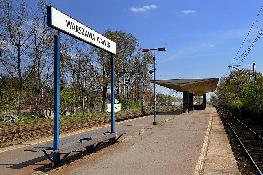 Warszawa Wawer railway station