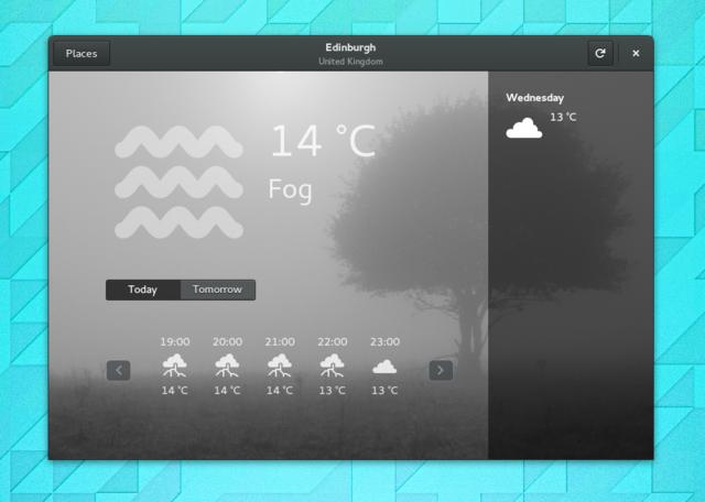 Programa de Meteorologia do GNOME