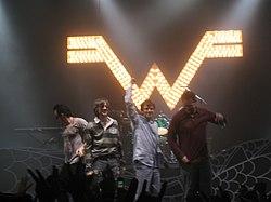 Weezer en Portland, Oregon (2005)