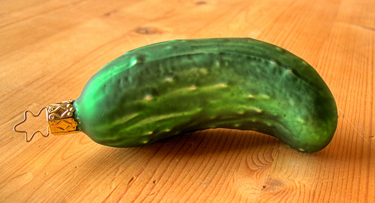 Christmas pickle - Wikipedia