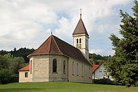 Weilen unter den Rinnen Kirche St. Nikolaus 2013-08-18.jpg