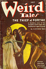 Weird Tales cover image for July 1937