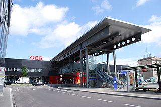 Wels Hauptbahnhof railway station