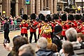 Welsh Guards as part of the funeral procession of Margaret Thatcher (8658941392).jpg