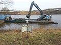 Werkschip in rivier de Dieze.jpg