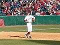 Western Illinois vs Arkansas baseball, 2013 003.jpg