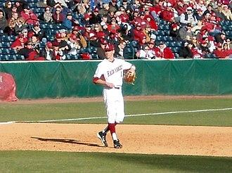 Brian Anderson (third baseman) - Image: Western Illinois vs Arkansas baseball, 2013 003