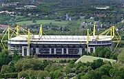 Luftansicht der Stadions