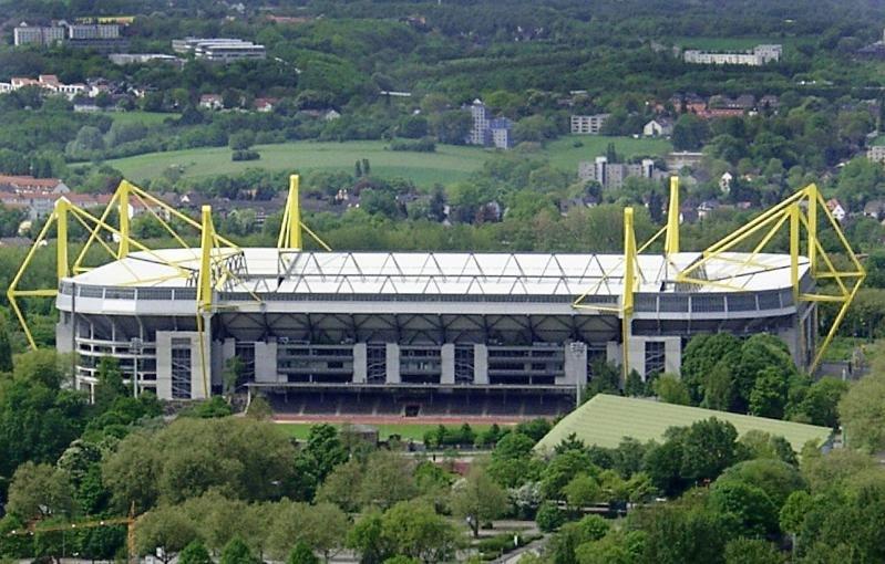 Westfalenstadion von oben