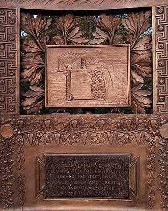Paul Fjelde - Image: Westinghouse Memorial—Niagara