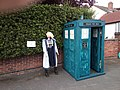 Weston on Trent Scarecrow trail 2019 TARDIS and doctor.jpg