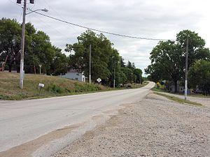 U.S. Route 6 in Iowa - The White Pole Road in Casey