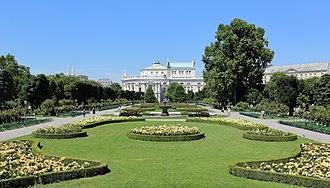 Volksgarten, Vienna - People's Garden of Vienna