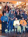 WikiCON 2014-Abendveranstaltung-Eule-Gruppenbild225437.jpg