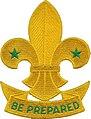 WikiProject Scouting fleur-de-lis scroll.jpg