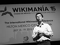 Wikimanía 2015 - Day 4 - Luis von Ahn conference - LMM (28).jpg