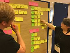 Wikimedia Hackathon 2017 - documentation sprint - sandra and lydia 2.jpg