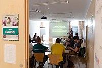 Wikimedia Hackathon Vienna 2017-05-19 Fantastic MediaWikis 003.jpg
