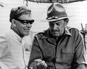 The Wild Bunch - Peckinpah's reconception of Pike Bishop was strongly influenced by actor William Holden.