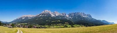 Wilder Kaiser, Tirol, Panorama, 160624, ako.jpg