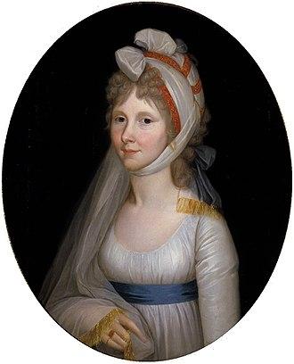 Princess Augusta of Prussia - Auguste von Hessen-Kassel, by Wilhelm Böttner