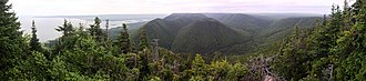 Cape Breton Highlands - Image: Wilkie Sugar Loaf South Lookoff