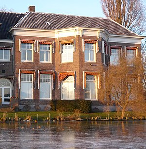Willem Willink - Summer home of Willem Willink on the Spaarne river