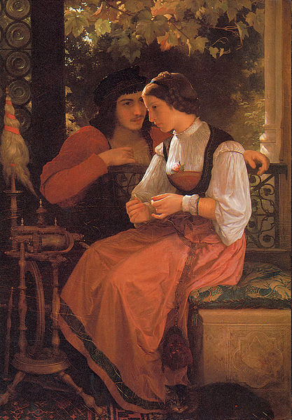 File:William-Adolphe Bouguereau (1825-1905) - The Proposal (1872) 2.jpg