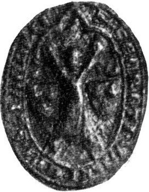 William de Lamberton - The seal of Bishop William de Lamberton.