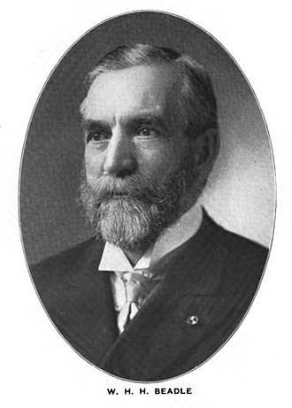 William Henry Harrison Beadle - Image: William Henry Harrison Beadle 001