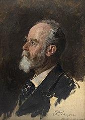 Portraitstudie Fritz Schaper, Bildhauer