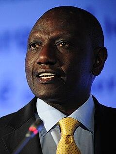 William Ruto Deputy President of Kenya