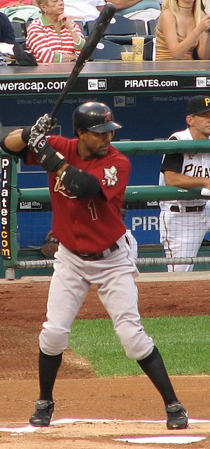 Willy Taveras during an at bat, on the August ...