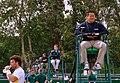 Wimbledon qualifying - umpires (9118444337).jpg