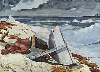 The Fog Warning - Image: Winslow Homer 005