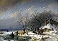 Winter landscape by Schelfhout.jpg