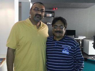 Pratap K. Pothen - Prathap Pothan (Right)