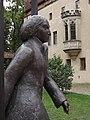 Wittenberg - Statue beim Lutherhaus - geo.hlipp.de - 28209.jpg