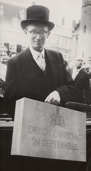 Johan Witteveen - Witteveen as Minister of Finance in 1964