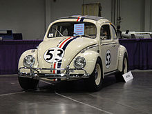 Wizard World Anaheim 2011 - Herbie the Love Bug (5674405609).jpg