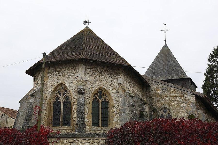 Église Saint-Gorgon de Woël.