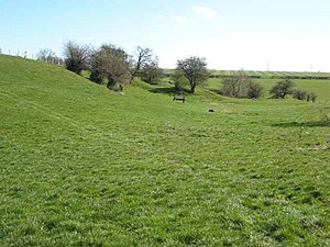 Newton Aycliffe - Remains of the medieval village of Woodham