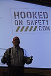 World-renowned motivational speaker, double amputee drives home safety aboard Cherry Point 120907-M-QB428-070.jpg
