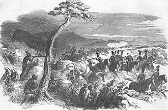 Battle of Grahamstown - Image: Xhosa wars