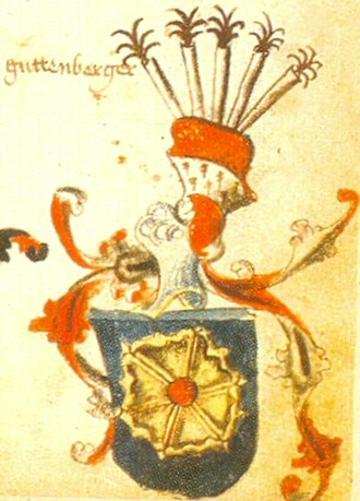 House of Guttenberg - Guttenberg coat of arms (1459)