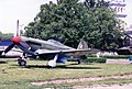 Yakovlev Yak-9P 'Frank' ADDITIONAL INFORMATION- Photo taken of this restored aircraft is on display at the Muzeum Wojska Polskiego (Museum of the Polish Army) in Warsaw, Poland, in Oct 22, 1995. The (18386609282).jpg